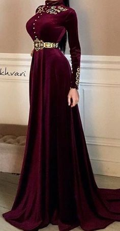 Modest Fashion, Hijab Fashion, Fashion Dresses, Evening Dresses, Formal Dresses, Prom Dresses, Pretty Dresses, Beautiful Dresses, Fantasy Gowns