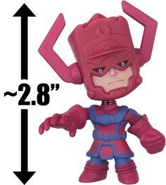 "Galactus: ~2.8"" Marvel x Funko Mystery Minis Vinyl Mini-Bobble Head Figure Series"