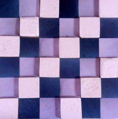 Texturas con yeso en sus tonalidades de blancos a negros