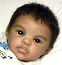 "AMAZING Reborn Ethnic A/A Biracial Baby Boy ""Sydney"" by M. Winters now ~Jiron~"