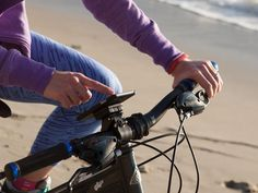 With the XVIDA Bike Kit, you can take full advantage of your iPhone while riding your bike.