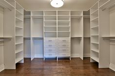 Walk-In Closet, the only thing I think I would add is a island with more storage and a bench for a place to sit while putting on shoes, I would make sure to have hanging space for dresses of all lengths
