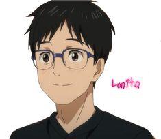 Personnage : Yûri Katsuki   Animé : Yuri!! On ice   Format : Render PNG
