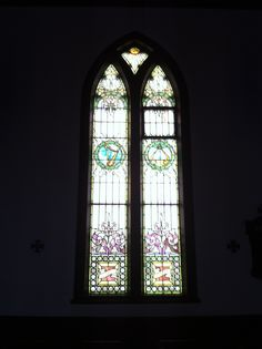 Stained glass window, St. John's Episcopal Church, North Haven, CT