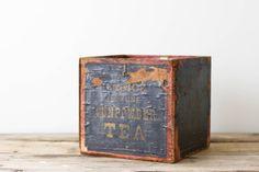 Antique Tea Crate