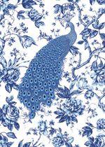 Benartex Kanvas Blue Eden