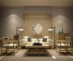 Gorgeous and Comfy Chinese Style Living Room Ideas. Chinese style living room and interior design has many distinctive features, ranging from colors, textures, and other elements, which have been known . Chinese Interior, Asian Interior, Japanese Interior, Asian Furniture, Chinese Furniture, Furniture Design, Asian Living Rooms, Living Room Interior, Zen Interiors