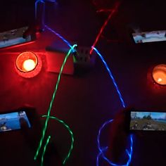 Item ID: Led charging cable visualizes the electricity flowing to your phone! Features: An additional protective layer has been added to the charging c Gadgets And Gizmos, Tech Gadgets, Cool Gadgets, Natural Face Pack, Diy Auto, Auto Gif, Cool Technology, Cool Inventions, Charging Cable