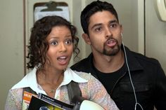 Wilmer and Gugu in Larry Crowne