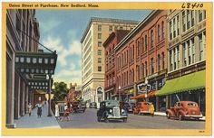 Union Street at Purchase, New Bedford, Mass. by Boston Public Library, via Flickr
