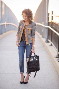 #Leather Trimmed #Tweed – #Isabel #Marant Kacie #Jacket