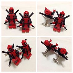 LEGO Cufflinks - Mens Cufflinks - Groom Cufflinks - Groomsmen Gift -  Lego® DEADPOOL Cufflinks - Lego® Minifigure Cufflinks - WEDDING Gift on Etsy, $20.00