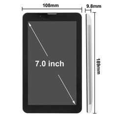 Silver 7.0 Inch Android 4.1 Tablet Pc 512mb+4gb Md700 3g Mobile Phone Function Dual Sim Cpu Mtk8312: Vendor: SNK Type: Android Tablet…
