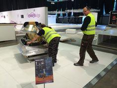 Mars Rover staat op zijn plek. - maxon motor benelux op Shell Energy Lab, Shell Eco-marathon 2014