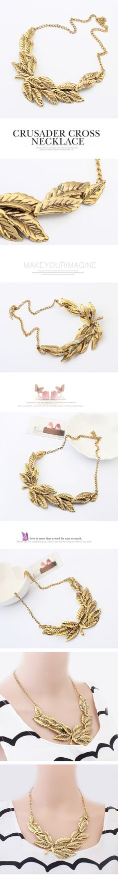 Cool Gold Maple Leaf Short bib necklace [naidi7016] - $4.54 : Fashion jewelry promotion store,Supply all kinds of cheap fashion jewelry
