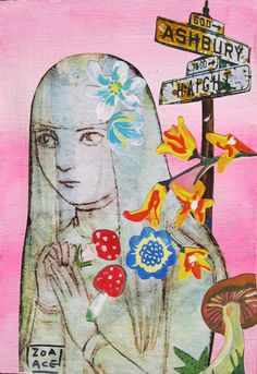 Flower Power by Zoa Ace Flower Power, Gallery, Artwork, Artist, Flowers, Painting, Work Of Art, Roof Rack, Auguste Rodin Artwork