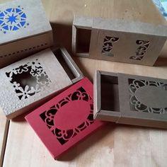 Schiebeboxverpackung für Seifen, Schmuck oder Sweeties