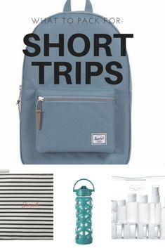 Favourite Things For: Short Trips
