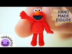 how to: miniature Elmo