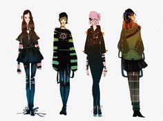 Goth girls by Maja-Lisa Kehlet ►get more @rohitanshu◄