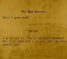 Alice and The Mad Hatter - my favourite part :)