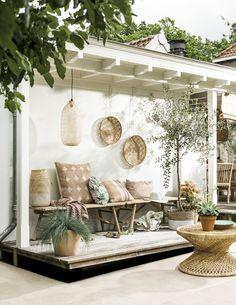 Outdoor Seating, Outdoor Rooms, Outdoor Living, Outdoor Decor, Soft Seating, Outdoor Areas, Outdoor Pergola, Pergola Ideas, Backyard Patio