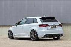 Anzeige: H&R bringt den Audi RS3 Sportback in Bestform