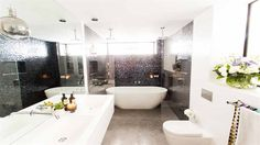 In Pictures: Daz + Dea's 'luxurious' bathroom   The Block Triple Threat   9Jumpin