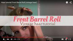 In deze video laat ik zien hoe je een Front Barrel Roll en een Grace Kelly Roll maakt met je haar. Een leuke vintage haarstijl voor iedere dag of juist voor een feestje. Je kunt hem stylen met een bandana of een bloem.