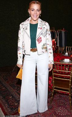 Busy bee: Actress Busy Philipps was also among the attendees at the exclusive gathering...