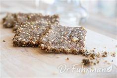 Flax and Sesame Crackers | Recipe Guide | Dr Fuhrman.com