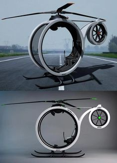 """""""ZERO"""" Amazing Ultramodern Personal Helicopter 