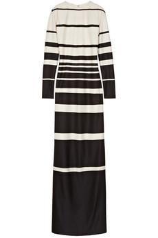 Marc Jacobs Striped silk-jersey maxi...
