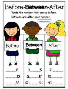 Students will write in the missing numbers to show… First Grade Teachers, 1st Grade Math, Kindergarten Math, Grade 1, Preschool, Teacher Helper, Love Teacher, Teaching Numbers, Math Numbers