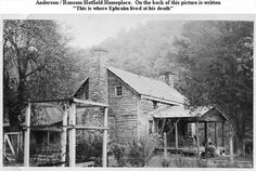 """photos of roseanna mccoy   GC3QEQX HMGT #03 """"Preacher Anse"""" Hatfield Cabin (Traditional Cache) in ..."""