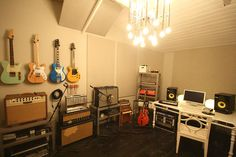 Adam's future music room.  I can see it now.... although a couch or two down there is a must.
