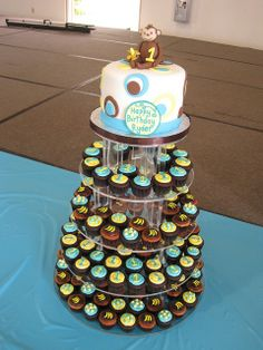 Monkey Themed 1st Birthday by FrostedHawaii, via Flickr