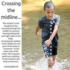 Bilateral Integration:Crossing the Midline Your Kids OT