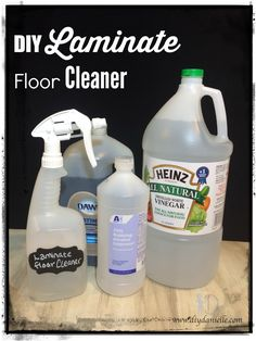 DIY Laminate Floor Spray/Cleaner