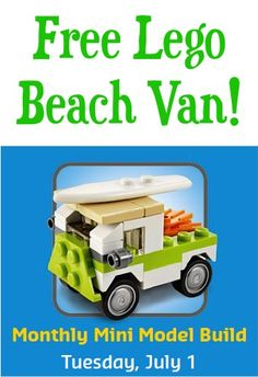 FREE Lego Beach Van!