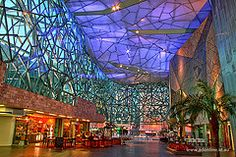 Federation Square - Melbourne, Australia.  We page list shopping report
