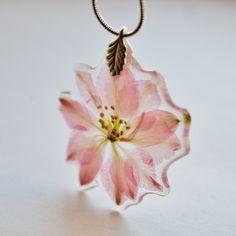 Pressed Flower Necklace - Necklaces - Pendants