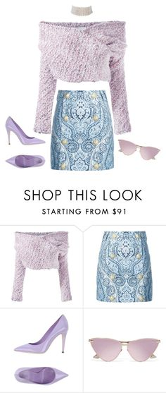 """Sugar Baby"" by hy1as on Polyvore featuring Mode, Daizy Shely, Balmain, Giamba, Le Specs und Marina J."