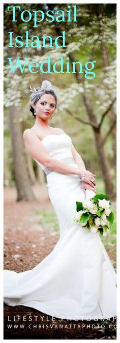 Hiring a Topsail Island Wedding Photographer?  Beach weddings, bridal portraits, wedding party. Photography
