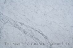 Another classic Italian marble, beautiful white background with a regular spread of veining, in a matt finish: White Carrara C Extra Honed