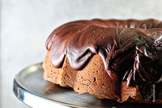 Chocolate Pound Cake Recipe | ©addapinch.com