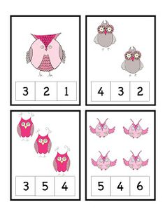 Preschool Printables: Owls