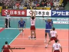 great compilation of sets in slowmo. these guys' hands are so buttery. video does a great job of showing the beauty of high level volleyball. also, notice the middles drawing the blockers in almost every clip. all of the hard work, none of the glory :) but again, the music...