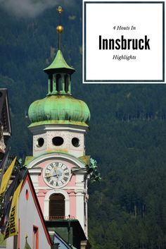 The oh so lovely Innsbruck! I only had 4 hours there and I wish it could have been more time. Here are my #innsbruckhighlights #innsbruck #innsbruckhighlights