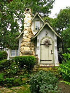 HANSEL AND GRETEL- HUGH COMSTOCK'S FIRST FAIRY TALE COTTAGES IN CARMEL (c) Linda Hartong